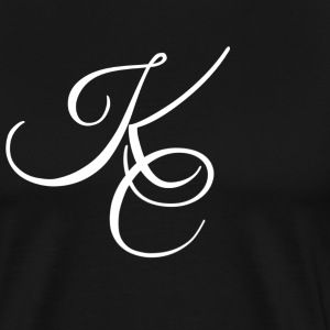 white kc logo T-Shirts - Men's Premium T-Shirt