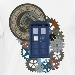 Traveling through Time 2 - Men's Premium T-Shirt