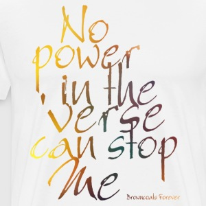 No Power in the Verse - Men's Premium T-Shirt