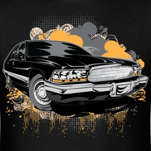 Cadillac Black Alt T-Shirts - Men's T-Shirt