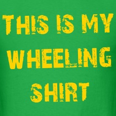 This is my wheeling shirt