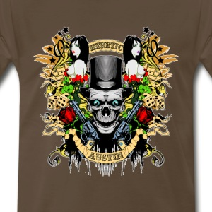Two Gun Heretic T-Shirts - Men's Premium T-Shirt