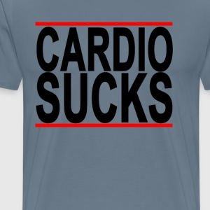 cardio_sucks_ - Men's Premium T-Shirt