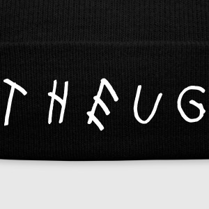 THEUG WOES Sportswear - Knit Cap with Cuff Print