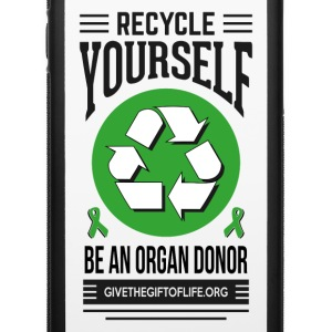 recycle yourself organ donation  Accessories - iPhone 6/6s Rubber Case