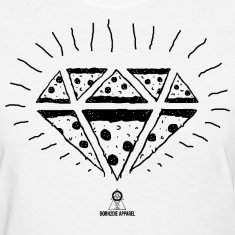 Pizza Diamond Women's T-Shirts
