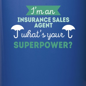 Insurance Sales Agent Superpower T Shirt Mugs & Drinkware - Full Color Mug
