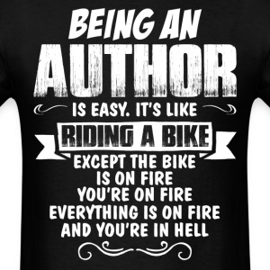 Being An Author.... T-Shirts - Men's T-Shirt
