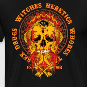 Heretics & Whores - Men's Premium T-Shirt