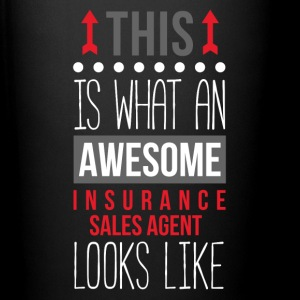 Awesome Insurance Sales Agent Professions T Shirt Mugs & Drinkware - Full Color Mug