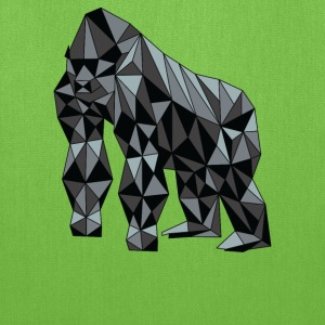Geometric Gorilla Bags & backpacks - Tote Bag