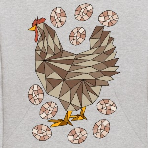 Geometric Chicken And Eggs Sweatshirts - Kids' Hoodie