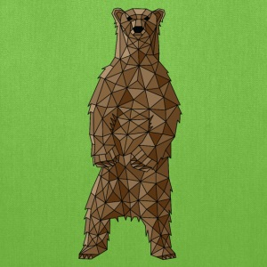 Geometric Brown Bear Bags & backpacks - Tote Bag