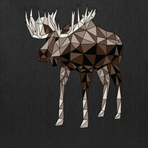 Geometric Moose Bags & backpacks - Tote Bag