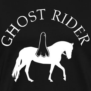 Ghost Rider on Horse Shirt - Men's Premium T-Shirt