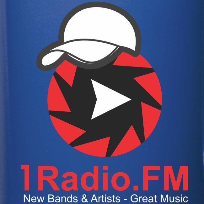 1Radio.FM Blue Mug