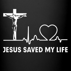 Jesus Saved My Life Cross Christian  Mugs & Drinkware - Full Color Mug