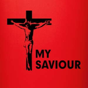 My Saviour Jesus Christ Christian Cross Religion Mugs & Drinkware - Full Color Mug