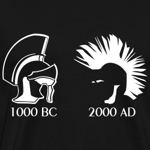 Ancient vs Punk - Men's Premium T-Shirt