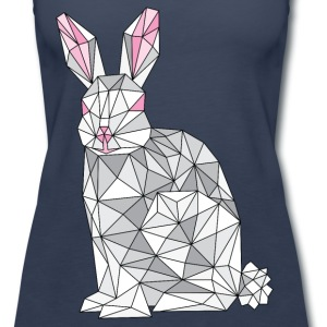 Geometric Rabbit Tanks - Women's Premium Tank Top