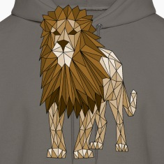 Geometric Lion Hoodies