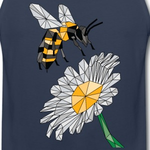 Geometric Bee & Flower Sportswear - Men's Premium Tank