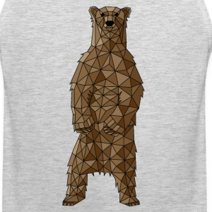 Geometric Brown Bear Sportswear - Men's Premium Tank