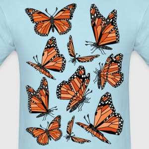 Geometric Monarch Butterfly  T-Shirts - Men's T-Shirt