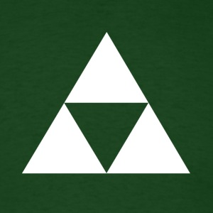 Hero's Shirt (Dark Green) - Men's T-Shirt