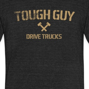 Tough Guy Drive Trucks - Unisex Tri-Blend T-Shirt by American Apparel