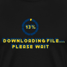 Downloading File Please Wait