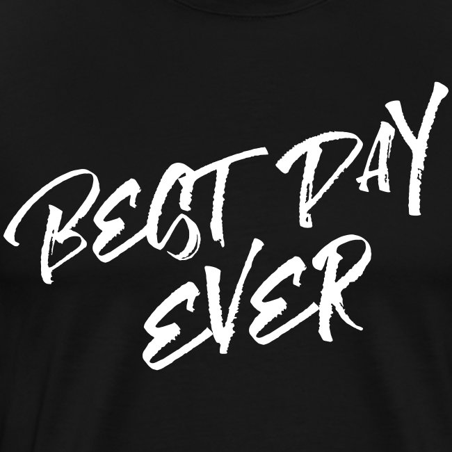 Best Day Ever Groom T-shirt
