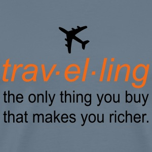 traveling T-Shirts - Men's Premium T-Shirt