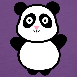 Panda 2 Tanks - Women's Premium Tank Top