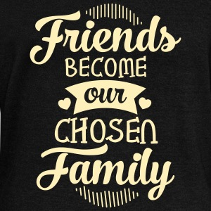 Friends Become Our Chosen Family Long Sleeve Shirts - Women's Wideneck Sweatshirt