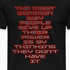 Men's Premium Tshirt - The Power of People