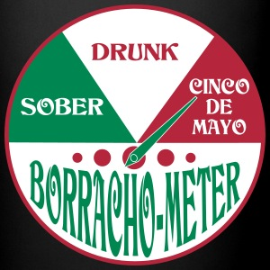 Cinco de Mayo Drunk Meter Mugs & Drinkware - Full Color Mug