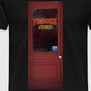 Firehouse Antique's Door - Men's Premium T-Shirt