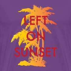 Left on Sunset T-Shirts
