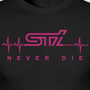 STi Never Die - Men's Long Sleeve T-Shirt by Next Level