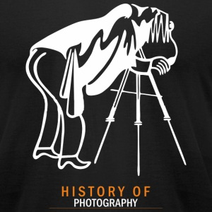 HISTORY OF PHOTOGRAPHY - Men's T-Shirt by American Apparel