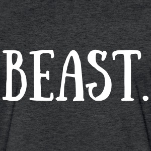 Beast. - Fitted Cotton/Poly T-Shirt by Next Level
