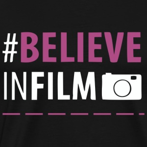BELIEVE INFILM DESIGN T-SHIRT MAN - Men's Premium T-Shirt