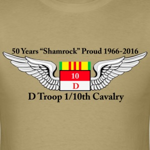 D Troop 50th Anniversary Standard T-Shirt KHAKI - Men's T-Shirt