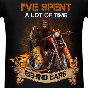 Motorcycles - Spent Behind Bars - Men's T-Shirt