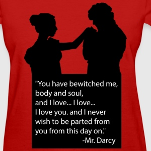 Jane Austen's Pride and Prejudice - Women's T-Shirt