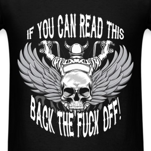 Motorcycles - Fuck off - Men's T-Shirt