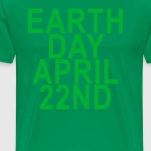 earth_day_april_22nd - Men's Premium T-Shirt