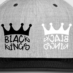 Black Kings Snapback - Snap-back Baseball Cap