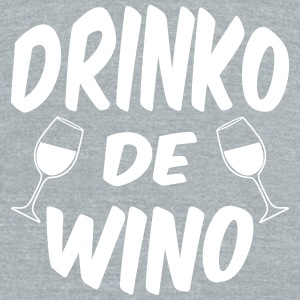 Drinko De Wino Cinco Mayo T-Shirts - Unisex Tri-Blend T-Shirt by American Apparel